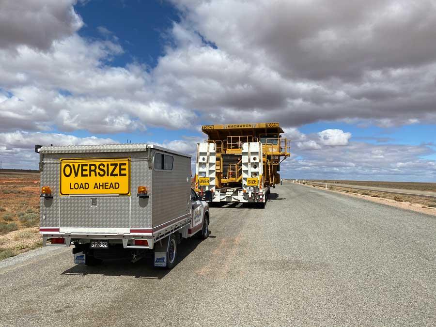Heavy Haulage Oversize Load